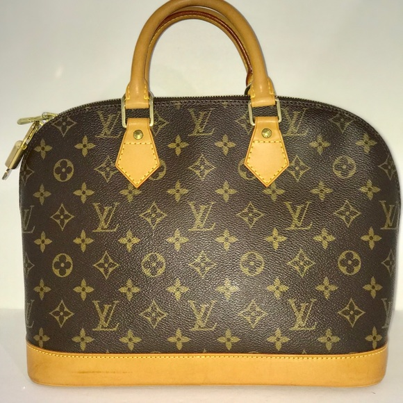 71a18275eca Louis Vuitton Bags | Authentic Alma Monogram Handbag | Poshmark